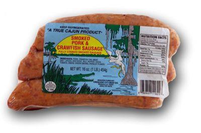 craw sausage photo